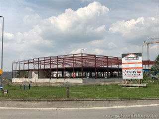 Start bouw Itek vestiging in Dilsen
